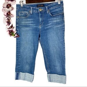 Seven 7 For All Mankind Capri Cropped Ankle Jeans